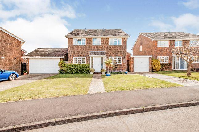 Thumbnail Detached house for sale in Dean Way, Storrington, Pulborough