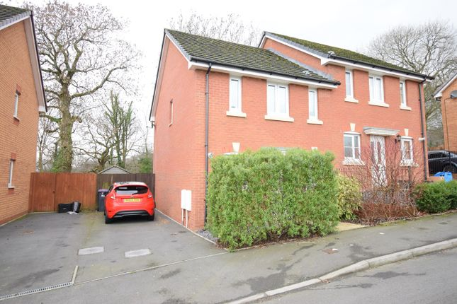Semi-detached house for sale in Thorncliffe Road, St Dials, Cwmbran