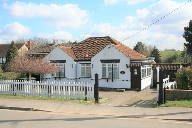 Thumbnail Detached bungalow for sale in Tysea Hill, Stapleford Abbotts, Romford