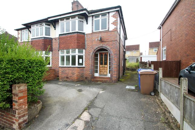 Thumbnail Semi-detached house for sale in Central Drive, Blurton, Stoke-On-Trent