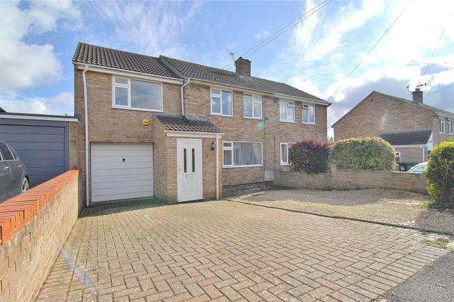 Thumbnail Semi-detached house for sale in Barrowfield Road, Stroud
