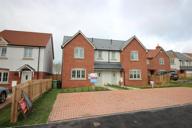 Thumbnail Semi-detached house for sale in Quarry Field, Lugwardine, Hereford