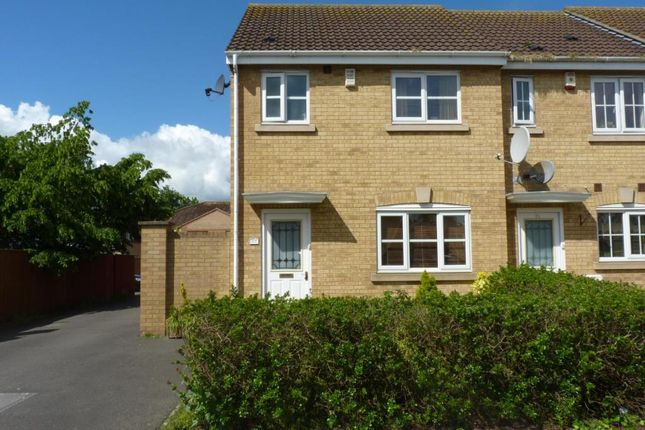 Thumbnail End terrace house to rent in Cheddon Mews, Taunton, Somerset