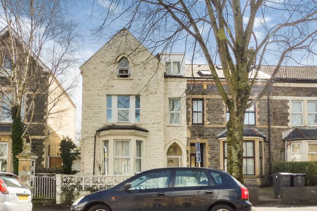 Thumbnail Terraced house for sale in Stacey Road, Roath, Cardiff