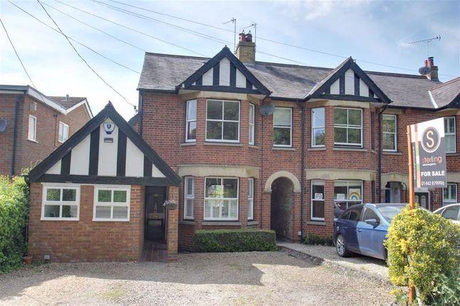 Thumbnail End terrace house for sale in Station Road, Cheddington, Leighton Buzzard