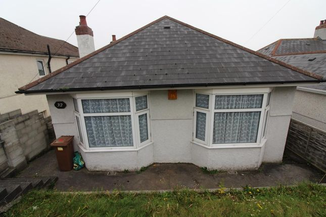 Thumbnail Detached bungalow for sale in Fairview Avenue, Laira, Plymouth