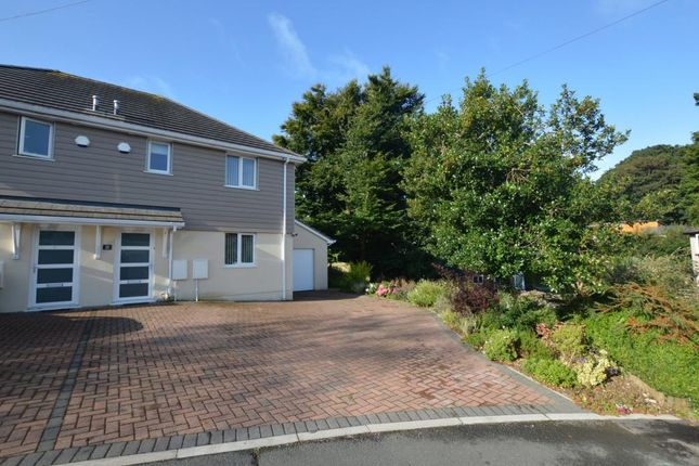 Thumbnail Semi-detached house for sale in The Dell, Plymouth, Devon