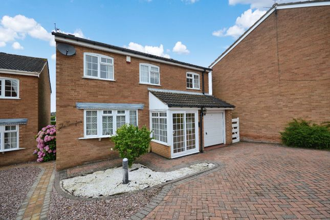 Thumbnail Detached house to rent in Ledbury Close, Oadby, Leicester