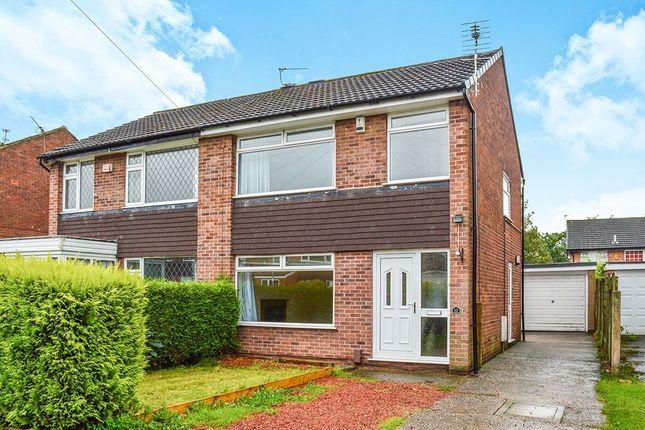 Thumbnail Semi-detached house to rent in Graymarsh Drive, Poynton, Stockport