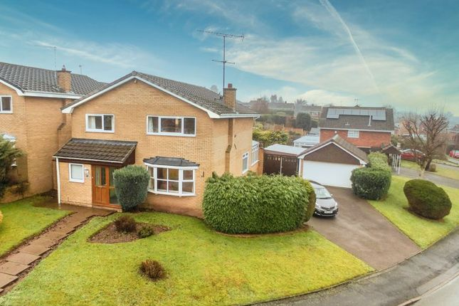 4 bed detached house for sale in Badgers Croft, Eccleshall, Stafford ST21