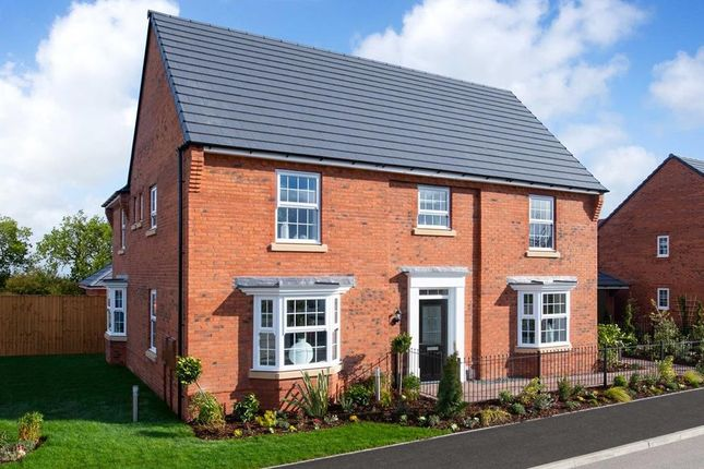 "Thumbnail Detached house for sale in ""Henley"" at Kilby Road, Fleckney, Leicester"