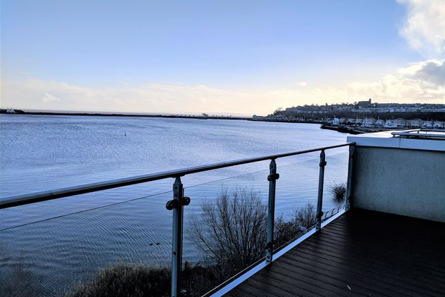 Thumbnail Flat to rent in Watermark, Ferry Road, Cardiff