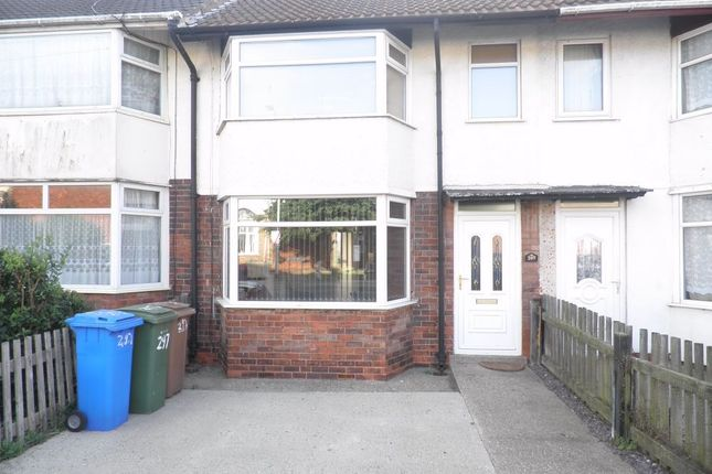 Thumbnail Terraced house to rent in 297 Queen Street, Withernsea, East Riding Of Yorkshire