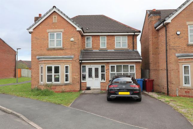 Thumbnail Detached house for sale in Seacole Close, Guide, Blackburn