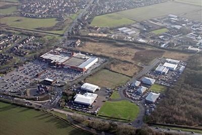 Aerial View of Altyre Way, Humberston, Grimsby DN36