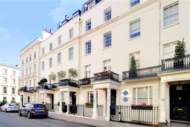 Thumbnail Terraced house to rent in South Eaton Place, Belgravia, London