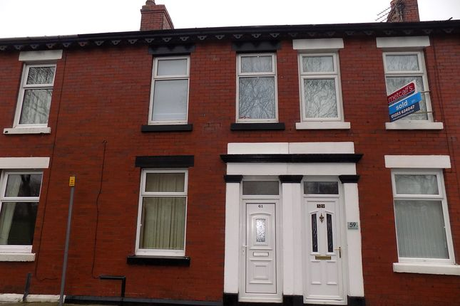Thumbnail Terraced house to rent in Claremont Road, Blackpool