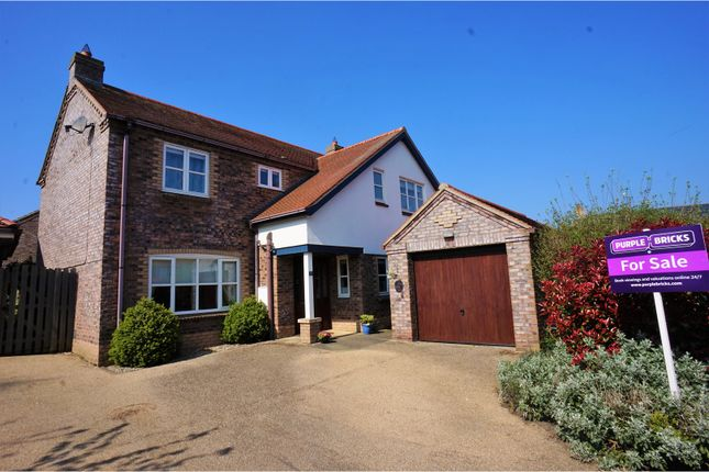 Thumbnail Detached house for sale in Jacksons Field, Middle Rasen