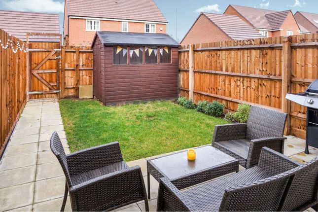 Rear Garden of The Wickets, Bottesford, Nottingham NG13