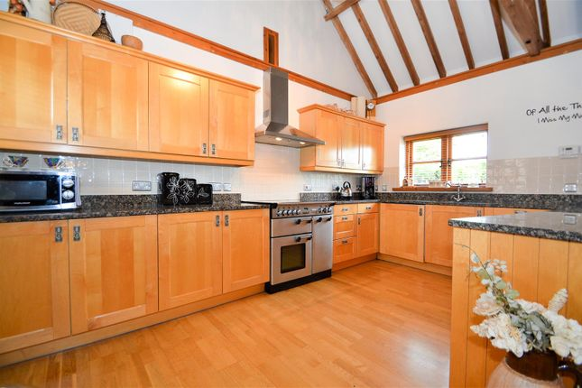# Kitchen Area of West Barn, Great Cossington Farm, Aylesford ME20