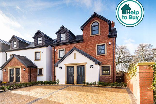Thumbnail Semi-detached house for sale in Warwick Bridge, Carlisle