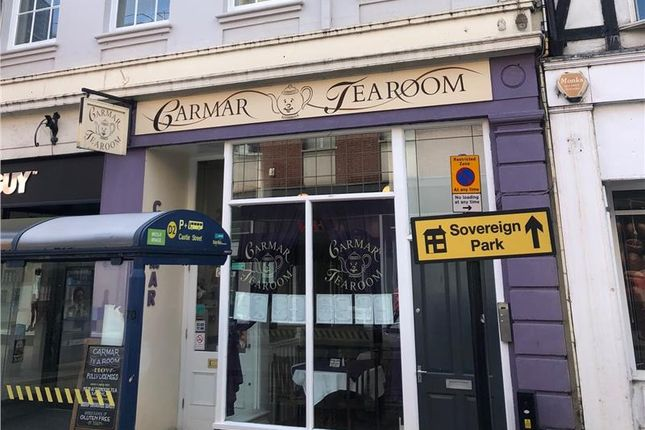 Thumbnail Restaurant/cafe to let in Town Centre Cafe, Carmar Tearooms, 38-38A Castle Chambers, Castle Street, Shrewsbury, Shropshire