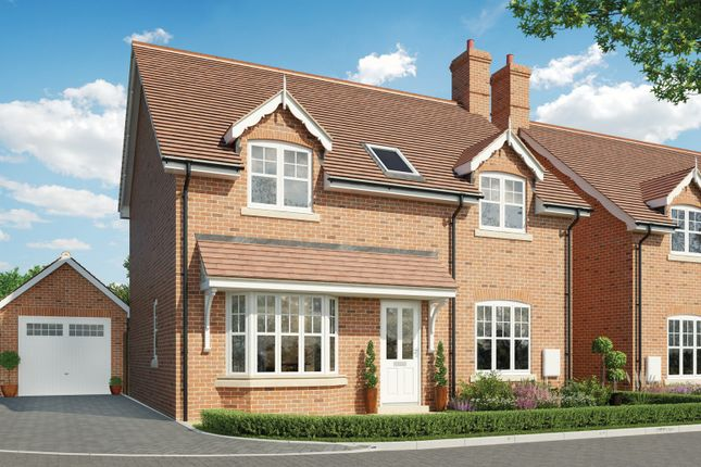 Thumbnail Detached house for sale in The Willows, Swallowfield, Reading