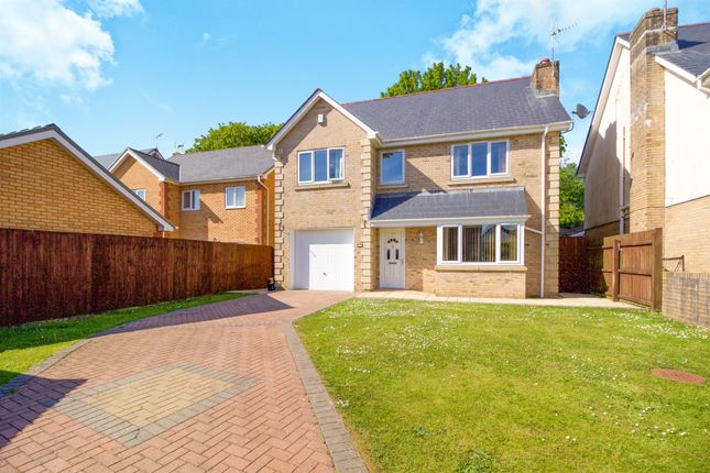 Thumbnail Detached house for sale in Andrews Close, Tondu, Bridgend