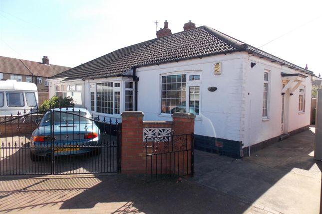 Thumbnail Semi-detached bungalow for sale in 6 Ethelstone Road, Grimsby, Ne Lincs.
