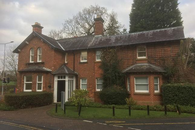 Thumbnail Office to let in The Lodge, Alderley Road, Wilmslow, Cheshire