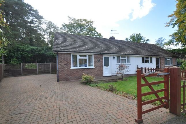 Thumbnail Semi-detached bungalow for sale in Wickham Road, Church Crookham, Fleet