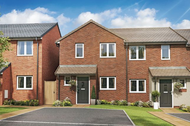 "Thumbnail 2 bed end terrace house for sale in ""The Coppice II"" at High Street, Riddings, Alfreton"