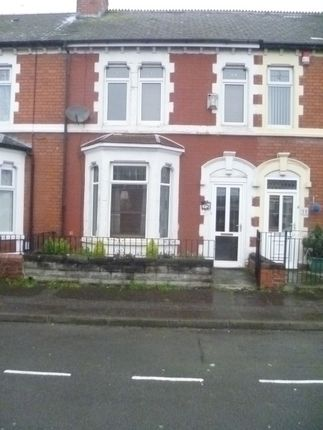 Thumbnail Terraced house to rent in Maes Y Cwm Street, Barry