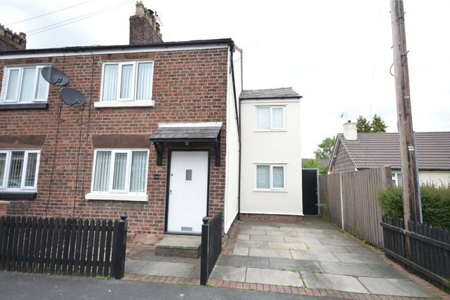 Thumbnail End terrace house for sale in Pepper Street, Hale Village, Liverpool