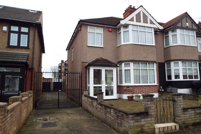 Thumbnail End terrace house for sale in Oakleafe Gardens, Barkingside, Ilford