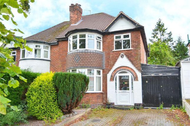 Thumbnail Semi-detached house for sale in Beverley Court Road, Quinton, Birmingham, West Midlands