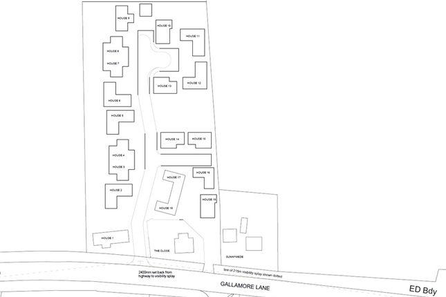 Thumbnail Land for sale in Gallamore Lane, Market Rasen