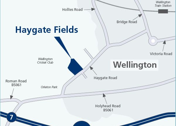 """Thumbnail Property for sale in """"Type - X416"""" at Haygate Road, Wellington, Telford"""