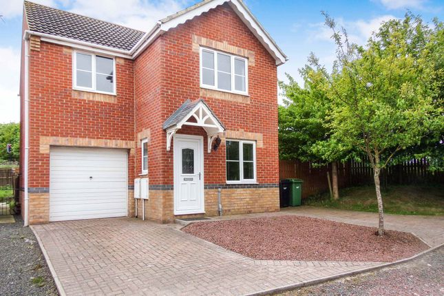 Thumbnail Detached house for sale in Willowbrook Close, Bedlington