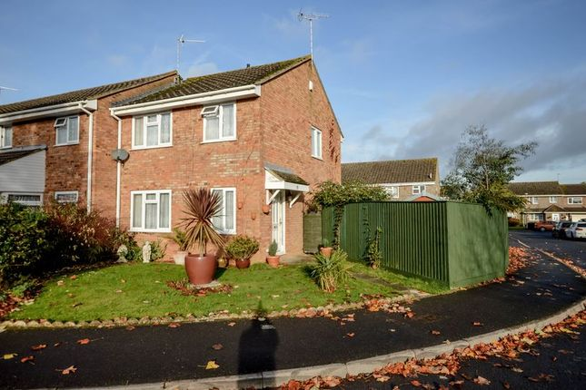 Thumbnail End terrace house for sale in Abney Moor, Swindon
