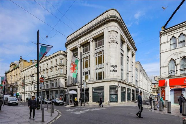 Thumbnail Commercial property for sale in The Howells Building, 8-18, St. Mary Street, Cardiff, UK