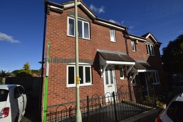 Thumbnail Semi-detached house for sale in Ellis Peters Drive, Aqueduct, Telford