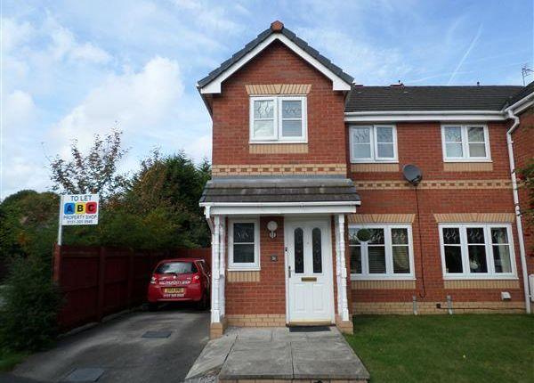 Thumbnail Semi-detached house to rent in Foxdene, Little Sutton, Ellesmere Port