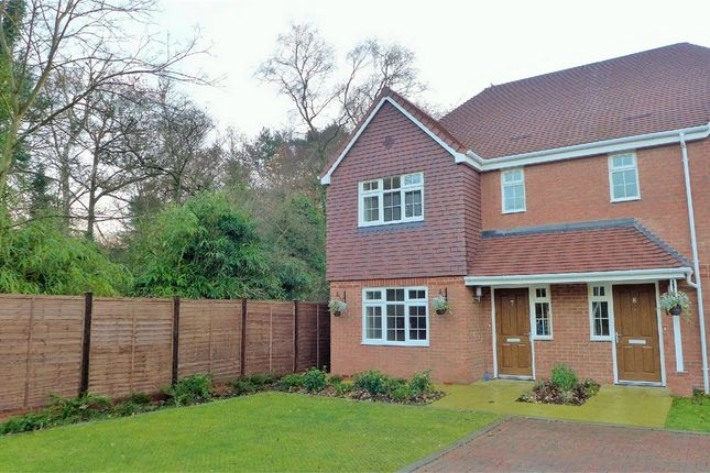 Thumbnail Semi-detached house to rent in Johnson Court, 62 Kings Road, Fleet
