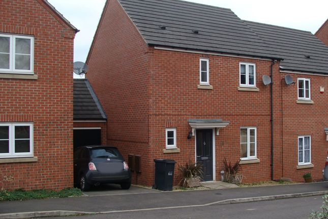 Thumbnail Semi-detached house to rent in Dixon Close, Enfield, Redditch