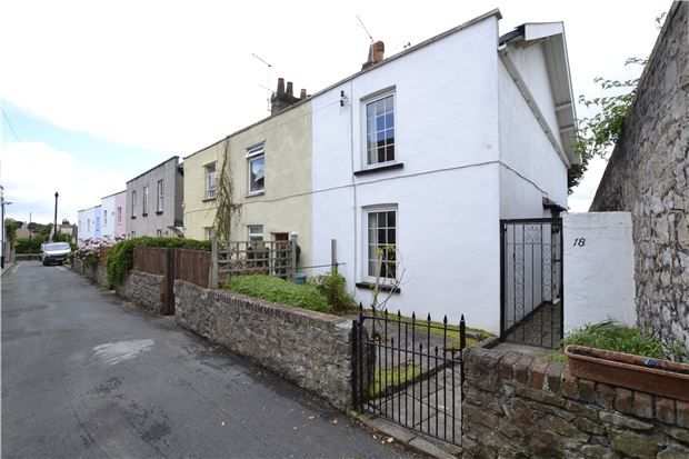 Thumbnail End terrace house for sale in Albert Place, Bristol