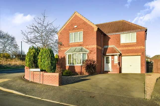 Thumbnail Detached house for sale in Mercia Close, Giltbrook, Nottingham