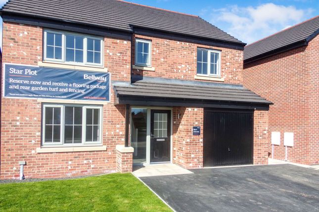 Thumbnail Detached house for sale in Benlaw Grove, Felton, Morpeth