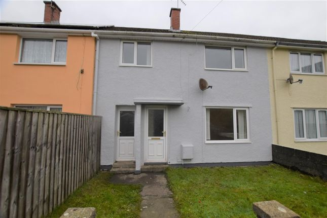 Thumbnail Terraced house for sale in Glen View, Merlins Bridge, Haverfordwest