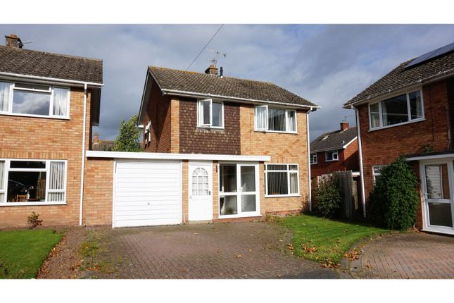 Thumbnail Link-detached house for sale in Malt House Crescent, Inkberrow